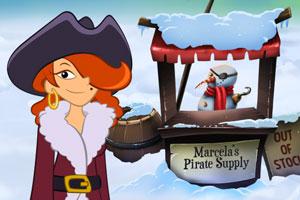 《玛赛拉船长的冬季仙境》游戏画面1