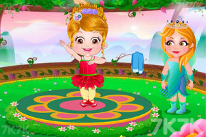 《可爱宝贝仙境芭蕾》游戏画面1
