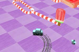 《小车乱闯圣诞》游戏画面1
