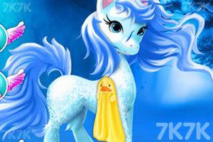 《照顾漂亮的小马》游戏画面2