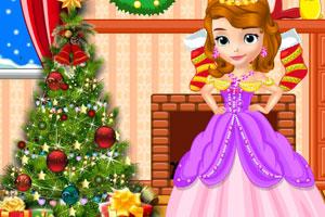《索菲亚准备圣诞节》游戏画面1