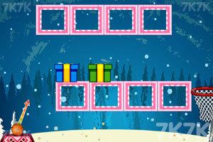 《圣诞节投篮》游戏画面1