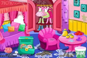 《漂亮公主打扫房间3》游戏画面2