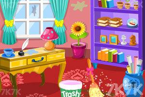 《漂亮公主打扫房间3》游戏画面3
