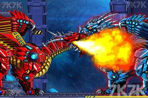 《组装机械冰龙》游戏画面3