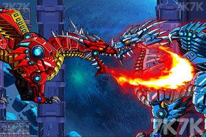 《组装机械冰龙》游戏画面1