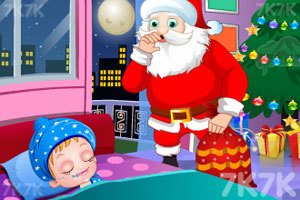 《可爱宝贝的圣诞节惊喜》游戏画面5