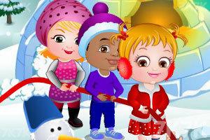 《可爱宝贝的圣诞节惊喜》游戏画面6