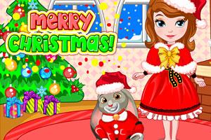 《苏菲亚公主圣诞节》游戏画面1