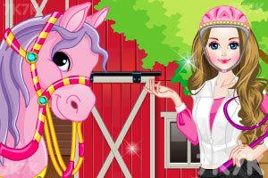 《女孩和她的小马》游戏画面3