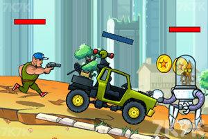 《武装越野车HD》游戏画面2