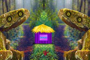 《圣诞节森林逃脱》游戏画面1