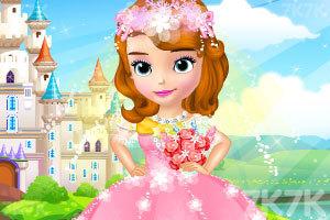 《索菲亚的时尚婚纱》游戏画面1