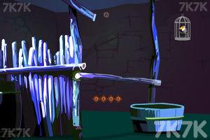 《巨嘴鸟逃出洞穴》游戏画面1