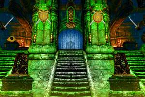 《神秘的城堡逃脱》游戏画面1
