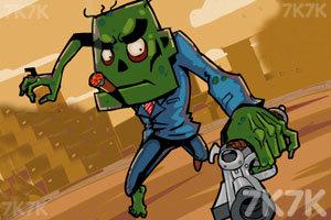 《复仇的僵尸》游戏画面1