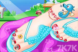 《夏日靓丽美足》游戏画面3
