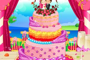 《装饰现实婚礼蛋糕》游戏画面1