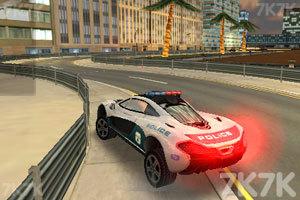 《迪拜警车竞速赛》截图4