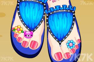 《美丽的脚趾甲》游戏画面2
