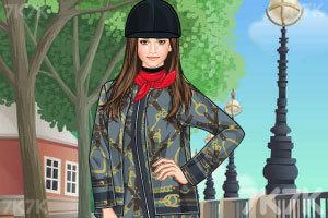 《爱打马球的姑娘》游戏画面1