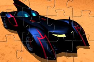 蝙蝠侠汽车拼图
