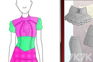 《时尚的哥特女人》游戏画面2