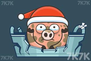 《水坑里的小猪3选关版》游戏画面1