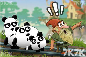 《小熊猫逃生记5选关版》游戏画面5