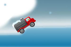 《冰上小货车》游戏画面1
