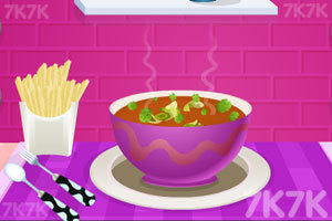 《番茄汤配罗勒油》游戏画面1