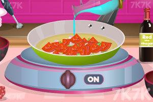 《番茄汤配罗勒油》游戏画面2
