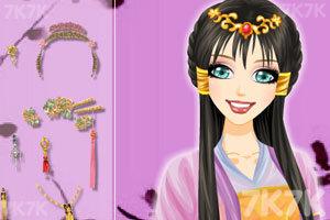 《中国古典发型》游戏画面2