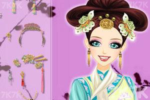 《中国古典发型》游戏画面3