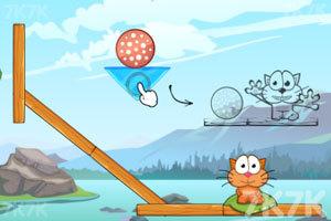 《贪吃猫吃遍冰河世界》游戏画面3