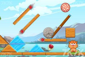 《贪吃猫吃遍冰河世界》游戏画面7