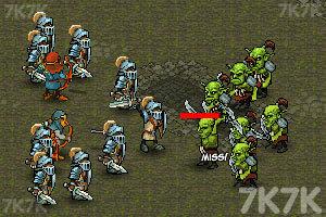 《皇家的英雄》游戏画面2