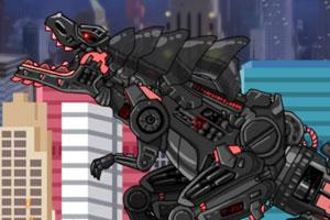 组装机甲变形龙
