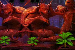 《黑暗宝石洞穴逃脱》游戏画面1