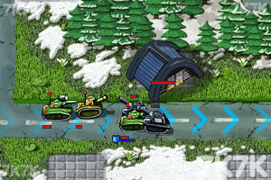 《坦克防御大战无敌版》游戏画面3