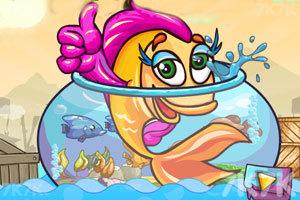 《搁浅的金鱼》游戏画面1