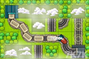 《火车铺路》截图1