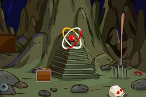 《坟墓洞穴逃脱》游戏画面1
