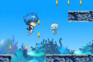 《深蓝少年酷跑》游戏画面1