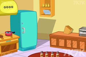 《温馨的老房子逃脱》游戏画面3