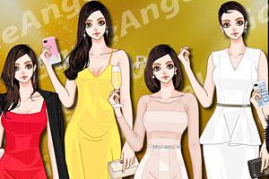 《时尚晚宴礼服》游戏画面1