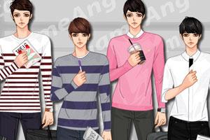 《型男时尚秋装》游戏画面1