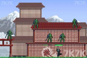 《忍者突袭无敌版》游戏画面1