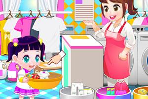 《宝贝帮忙洗衣服》截图2