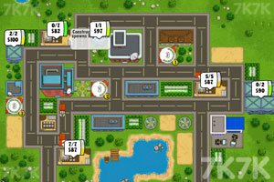 《运送水泥盖房子2无敌版》游戏画面3